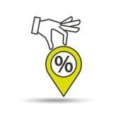 Concept e-commerce financial graphic. Vector illustration eps 10 Stock Photos