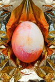 Concept of easter golden egg Royalty Free Stock Images