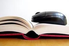 Concept of ebook. Book and Stock Photos