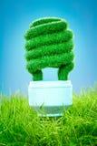 Concept Eco light bulb Stock Photo