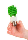 Concept Eco light bulb Royalty Free Stock Photo