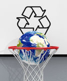 Concept of ecology and recycling Royalty Free Stock Image