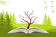 The concept of ecology, to save the planet. Royalty Free Stock Image
