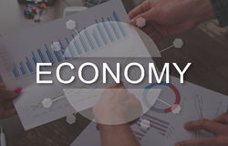 Concept of economy Royalty Free Stock Photography