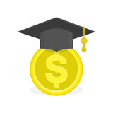 Concept of education fee. Stock Photography