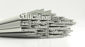 Concept of education Royalty Free Stock Photos