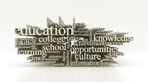 Concept of education Stock Photography