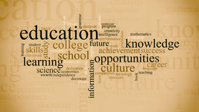 Concept of education Stock Photo