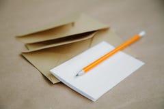 Concept een uitstekende uitnodiging voor een huwelijk of een gebeurtenis, een liefdebrief royalty-vrije stock foto