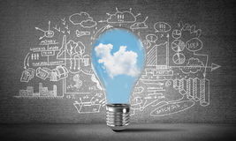 Concept of effective marketing innovations. Stock Photography