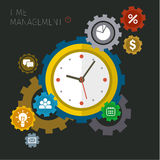 Concept of effective time management Stock Images