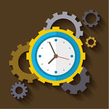 Concept of effective time management Stock Image