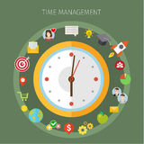 Concept of effective time management Royalty Free Stock Photography