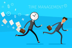 Concept of effective time management Royalty Free Stock Photo