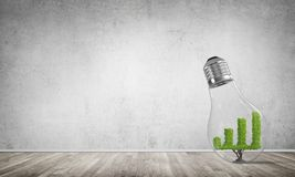 Concept efficiënte marketing innovaties Stock Fotografie