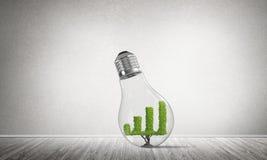 Concept efficiënte marketing innovaties Stock Afbeeldingen