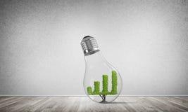 Concept efficiënte marketing innovaties Royalty-vrije Stock Foto's