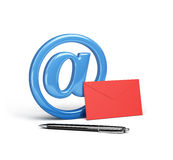 The concept of electronic mail Royalty Free Stock Images
