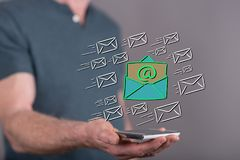 Concept of email Stock Images