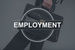Concept of employment Stock Photography