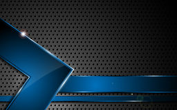 Concept en acier d'innovation de texture d'abrégé sur fond de vecteur illustration de vecteur