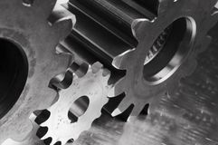 Concept en acier inoxydable image stock