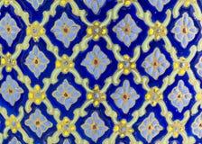 Concept en céramique de métier d'art de fleur de texture image stock