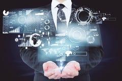 Concept en ligne d'opérations bancaires Photo stock