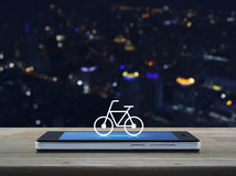 Concept en ligne de boutique de vélo Photo libre de droits