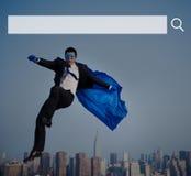 Concept en ligne de site Web d'Internet de technologie de Web de boîte de recherche Photo libre de droits