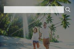 Concept en ligne de site Web d'Internet de technologie de Web de boîte de recherche Images libres de droits