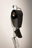 Concept en nylon de papier hygiénique pour l'humeur, plaisanterie, absurde, paradoxe, rencontré photos stock