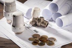 Concept energie - besparing royalty-vrije stock fotografie