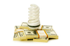 Concept of energy efficiency Royalty Free Stock Images