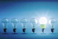 Concept of energy saving Stock Image