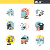 The concept of energy Royalty Free Stock Photo