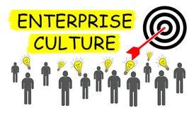 Concept of enterprise culture Stock Photography