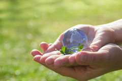 Concept for environment protection Stock Image