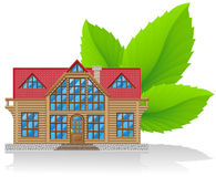 Concept of environmental home  illustration Stock Photo