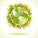 Concept - Environmentally Friendly Planet Stock Photography