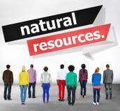 Concept environnemental d'énergie de la terre de ressources naturelles photos libres de droits