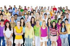Concept ethnique d'appartenance ethnique de grande diversité diverse Photographie stock libre de droits