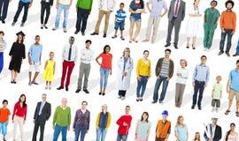 Concept ethnique d'unité d'amitié d'appartenance ethnique de diversité diverse Image stock