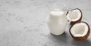 Concept exotique de lait images stock
