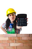 The concept of expensive construction work Royalty Free Stock Image