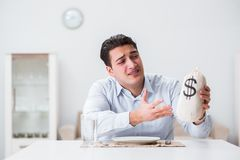 The concept of expensive dining in restaurants. Concept of expensive dining in restaurants Stock Photos