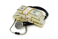 Concept of expensive healthcare Royalty Free Stock Images