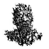 Concept fâché de démon Illustration de vecteur illustration stock