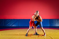 The concept of fair wrestling stock photos