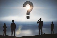 Concept FAQ Stock Foto's